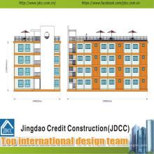 Professionelle und kostengünstige Stahlkonstruktions-Handelsgebäude