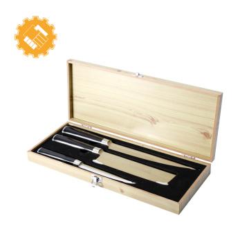 Couteau japonais de cuisine 3pcs de haute qualité