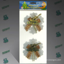 Decorative Plastic Christmas snowflake hanging ornament, Christmas decoration