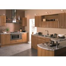 Glossy / Matt Melamine Wooden Kitchen Cupboards (ZHUV)