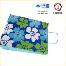 Bolso de compras elegante del papel decorativo, bolso de papel del regalo, bolsa de papel