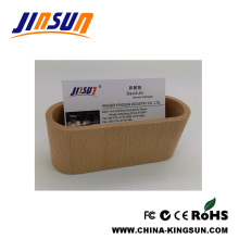 Name Card Case Wooden Box Office Use