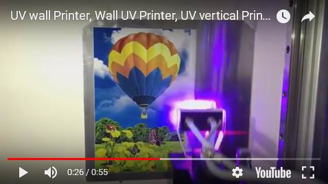 UV ink wall printer
