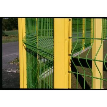 Clôture en fil soudé en PVC