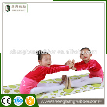 machine Washable Natural Rubber Yoga Exercise Mat for Kids