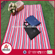 Outdoor waterproof foldable cotton camping picnic mat