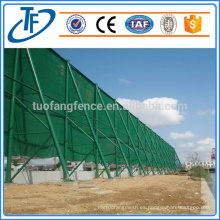 Poliéster de viento o polvo de malla neto de PVC revestido