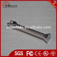 Verchromt oder verzinkt Präzisions-CNC-Bearbeitung Stahlteile / 5axi CNC-Bearbeitung und Schweißen Teile