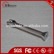 Cromo banhado ou zincado precisão cnc usinagem peças de aço / 5axi cnc usinagem e peças de soldagem