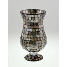 Novo Design Glass Mosaic Candle Holder