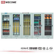 Gabinete de almacenaje de herramienta inteligente de seguridad Metal