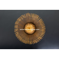 Geräucherte alte goldene Bambus-Schienbein-Chasen-komplett von einer Person handgefertigt