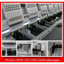 Holiauma heißer Verkauf acht Kopf Cap Stickmaschine mit 15 Nadel für flache gleichmäßige Stickerei Ho1508c