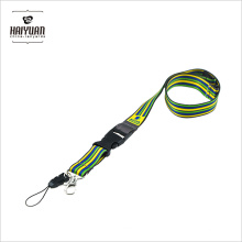 Factory Direct Supply Polyester Sublimation Lanyard mit Handy-Clip