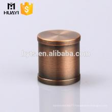 most popular bronze zamac perfume cap