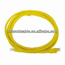 light yellow cat5e patch cord 568A