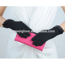 Women cheap wool knitted gloves winter cashmere gloves