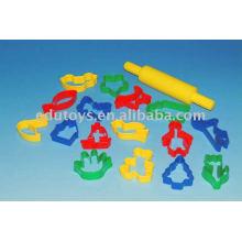 Aprendizaje de plástico Aclarar juguetes de ladrillo