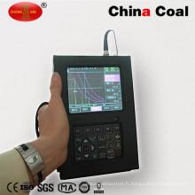 Détecteur ultrasonique portatif de faille de soudure en métal d'acier inoxydable de NDT