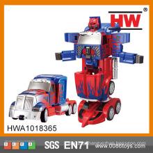 Nuevo producto Interesante niños B / O robot de plástico robot coche robot