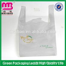 T-shirt bag one-time shopping bag for vegetable / fruit / bread carrier bag odorless non-toxic