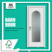 JHK-Arch Wood Revolving Floor Hinge Glass Door