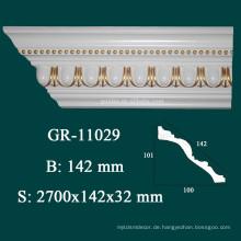Home Decor Polyurithan Crown Molding für modernen Bau