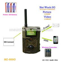 12mp 1080 P SMS Controle GPRS MMS 3G Caça Trail Camera HC-500G