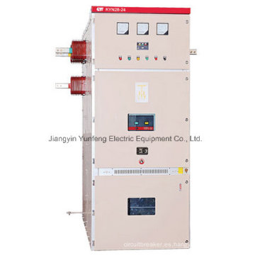 Tablero de distribución de alta tensión para interiores Kyn28-24 con instalación centralizada