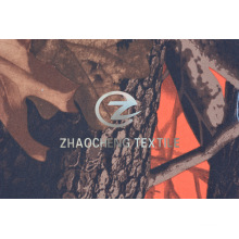 Twill Poly Fabric with Forest Camouflage Printing (ZCBP264)