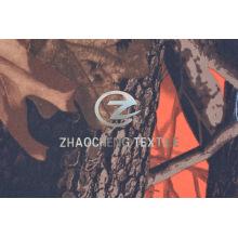 Twill Poly Fabric с лесной камуфляжной печатью (ZCBP264)