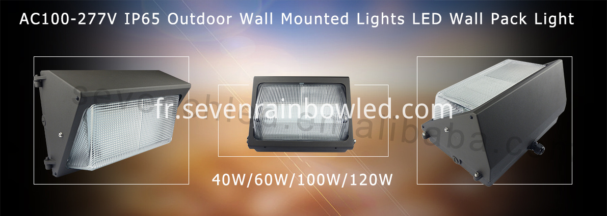 commercial led wall pack