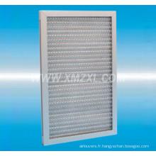 filtre à air en aluminium maille