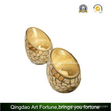 Mosaic Glass Egg Candle Holder Wholesale