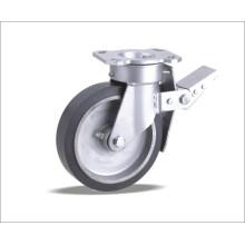 Вращающийся литейщик с эластичным резиновым колесом