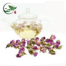 Chá de flores secas de botões de rosa
