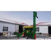 Corn maize thresher with diesel engine power