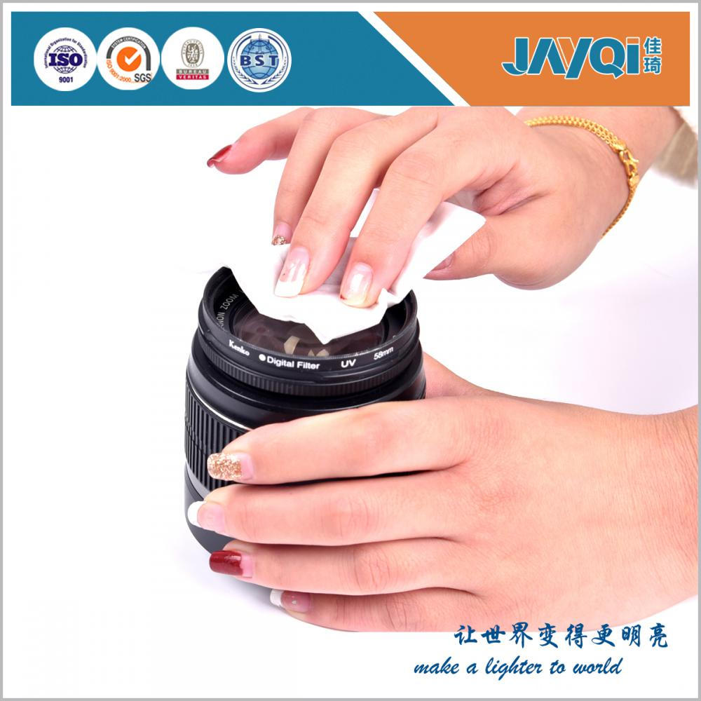 Custom Electronic Lens Cleaning Wipes