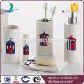 Essentials Decor Collection 6-Piece Ceramic Bathroom Set Wholesale