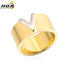 Anel de aço inoxidável da jóia da forma