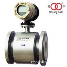 LCD Display PTFE Lining Electrode 316L Output Signal Electromagnetic Flow Meter