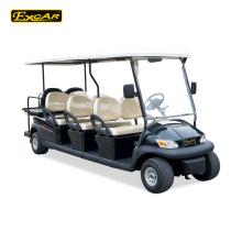 Carro de golf barato del carrito de golf excar 8 seater para el coche de turismo de la venta