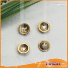 Zink-Legierung 4 Löcher Button BM1594