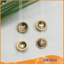 Zinc Alloy 4 Holes Button BM1594