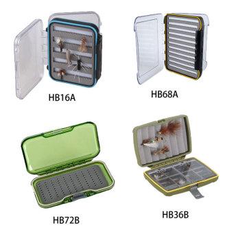 Beliebte Clear Box Wasserdichte Fliegen Box Kunststoff Angeln Box