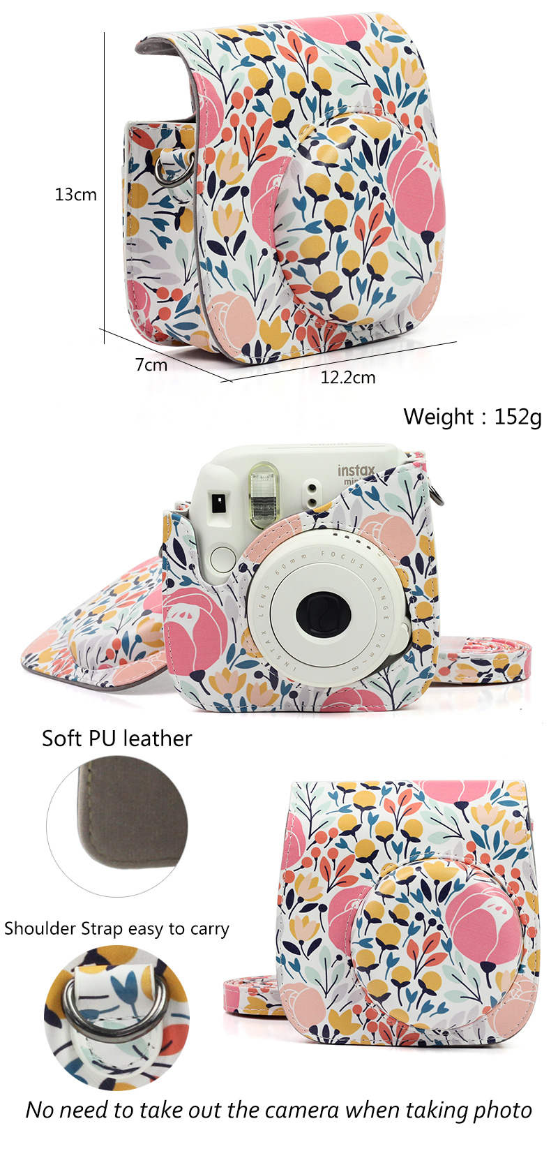 Tulip Instax Mini 9 Camera Bag