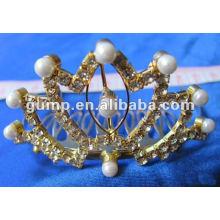 Crstal tiara comb (GWST12-111)