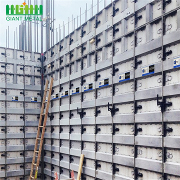 Construction+Steel+Concrete+Wall+Aluminum+Formwork