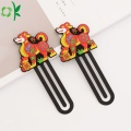 Animal Shape Silicone Bookmark för Promotion Gift