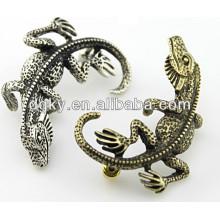 Weinlese-Eidechsen-Gecko-Ohrring-Ohrstulpe-Körper-Schmucksachen